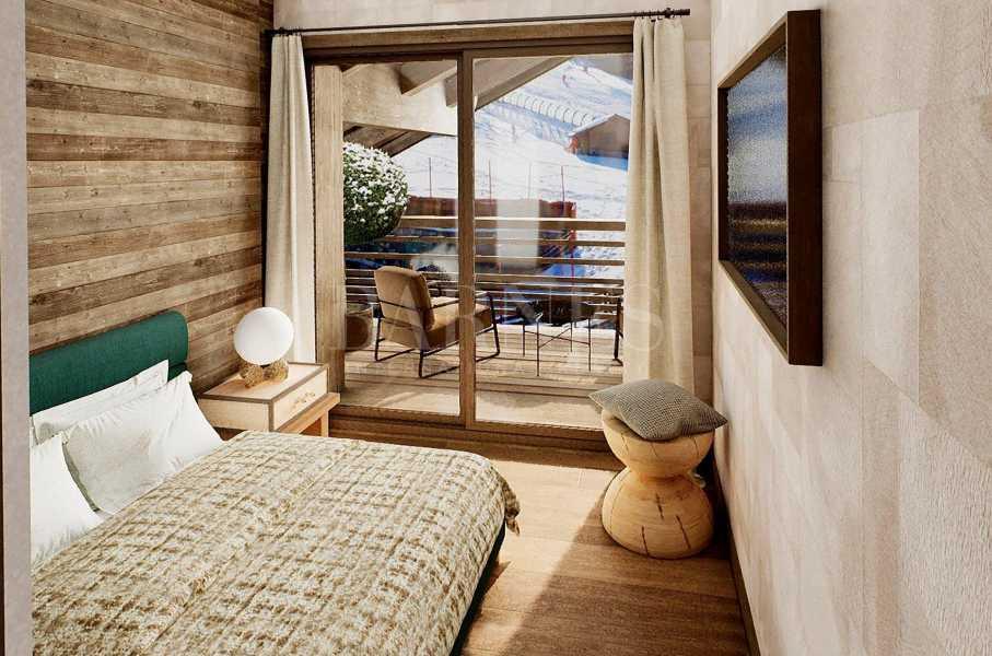 Méribel  - Appartement 4 Pièces 3 Chambres