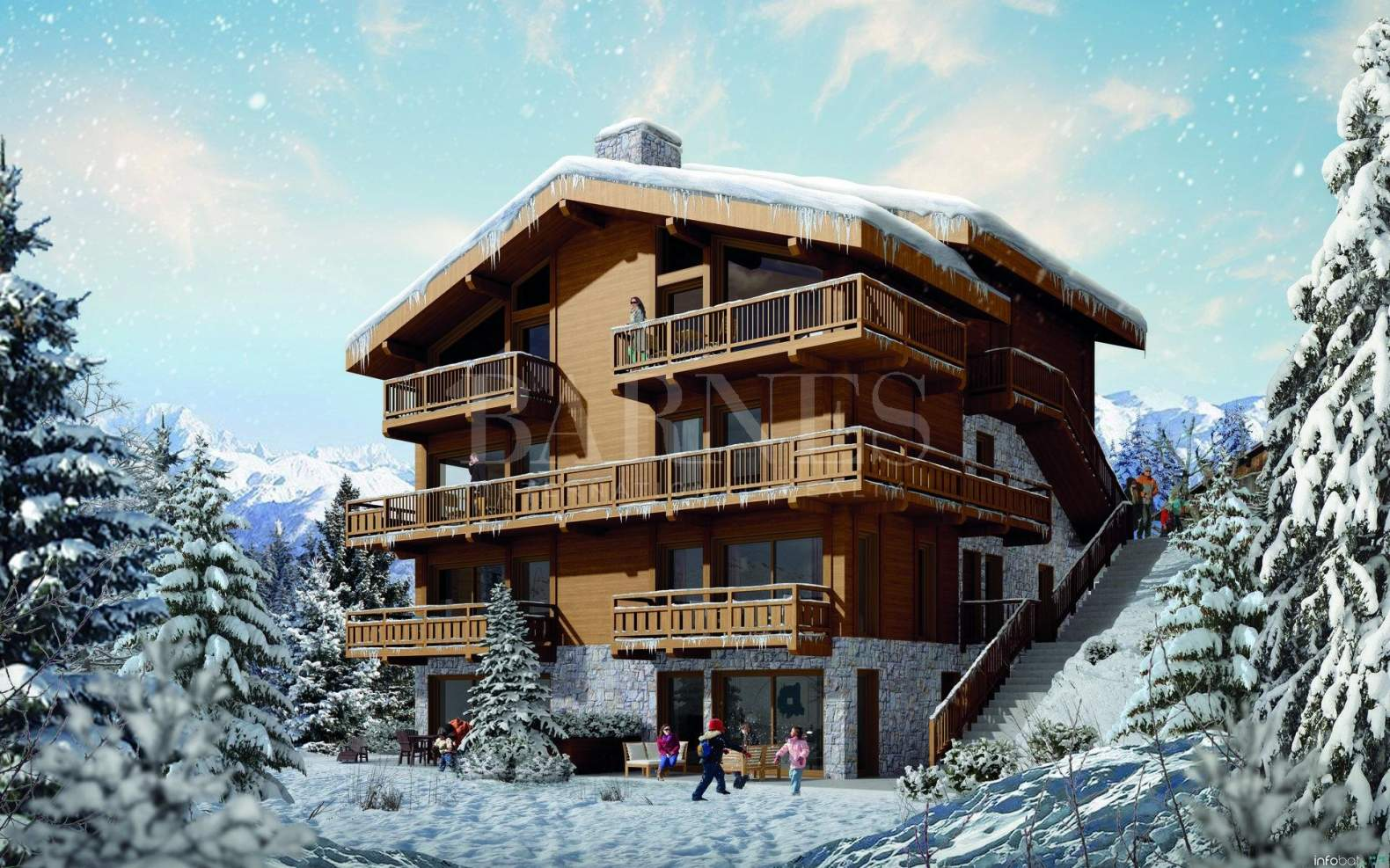 Courchevel  - Apartment 3 Bedrooms - picture 1