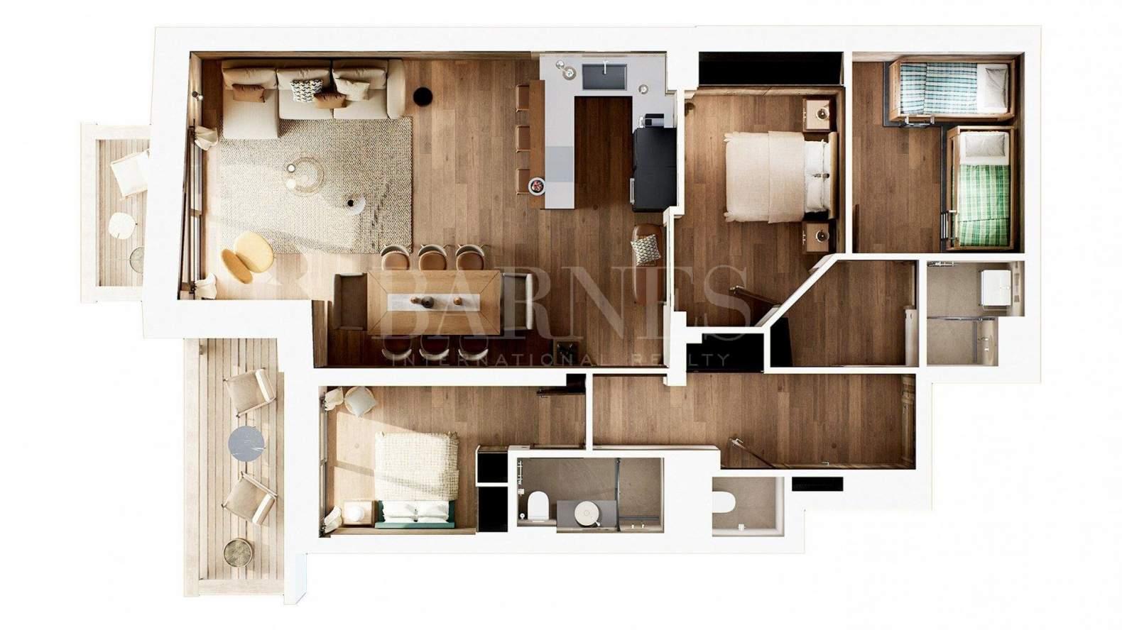 Méribel  - Appartement 4 Pièces 3 Chambres - picture 16