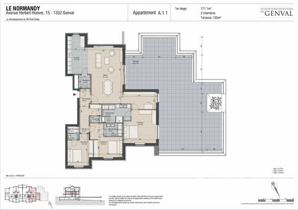 Apartment Genval  -  ref 3928013 (picture 2)