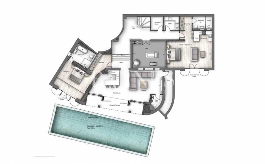 Le Cannet  - Villa 8 Pièces 5 Chambres