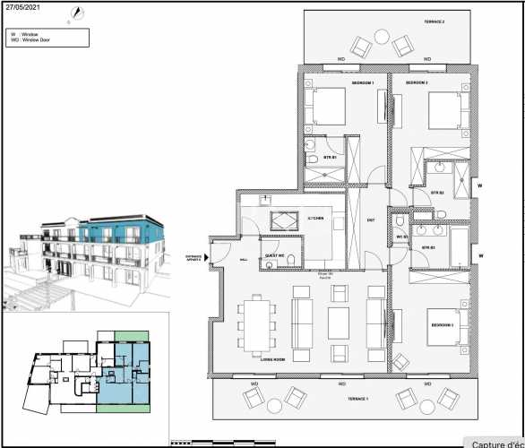 Appartement Antibes  -  ref 5893842 (picture 1)