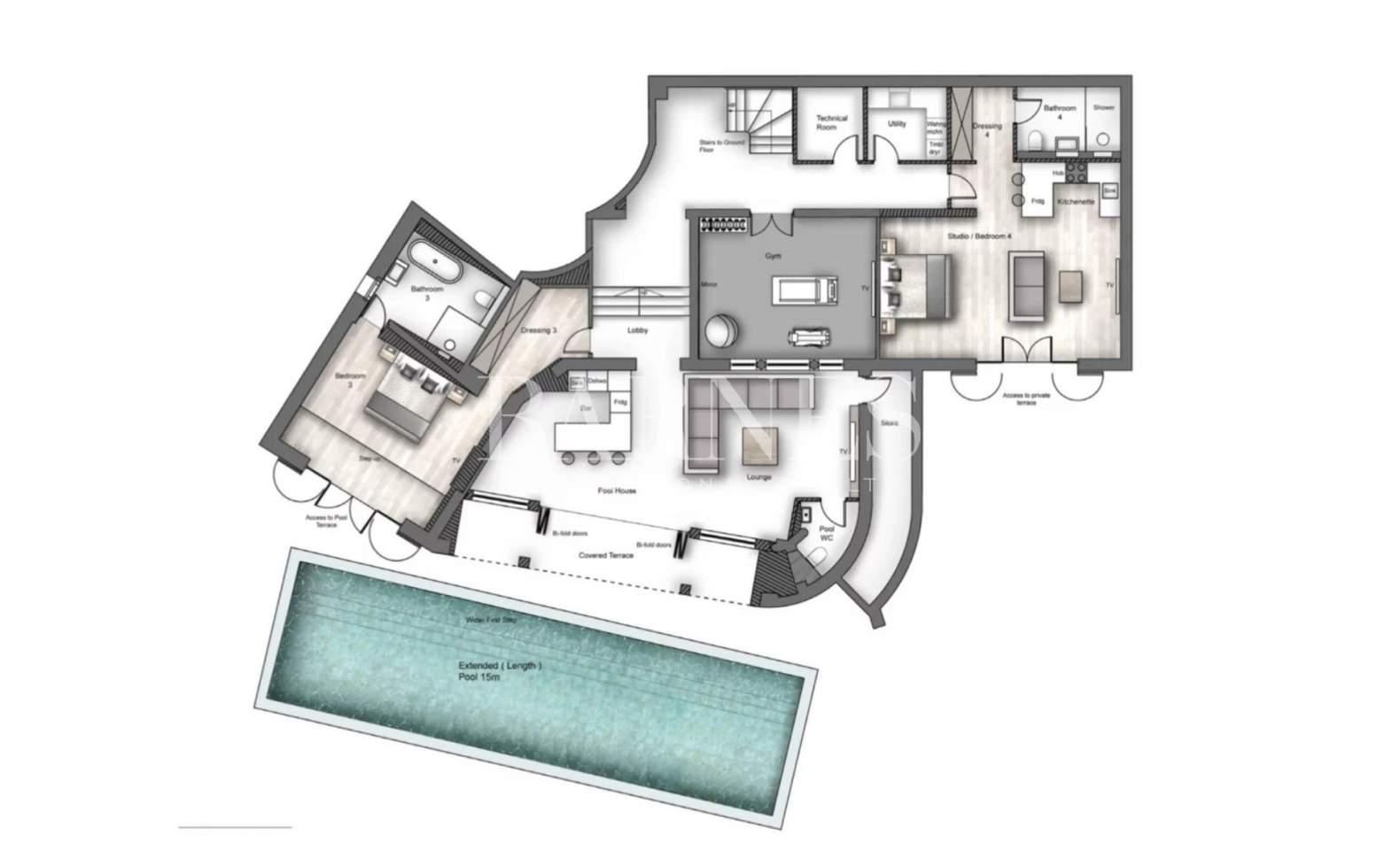 Le Cannet  - Villa 8 Pièces 5 Chambres - picture 6