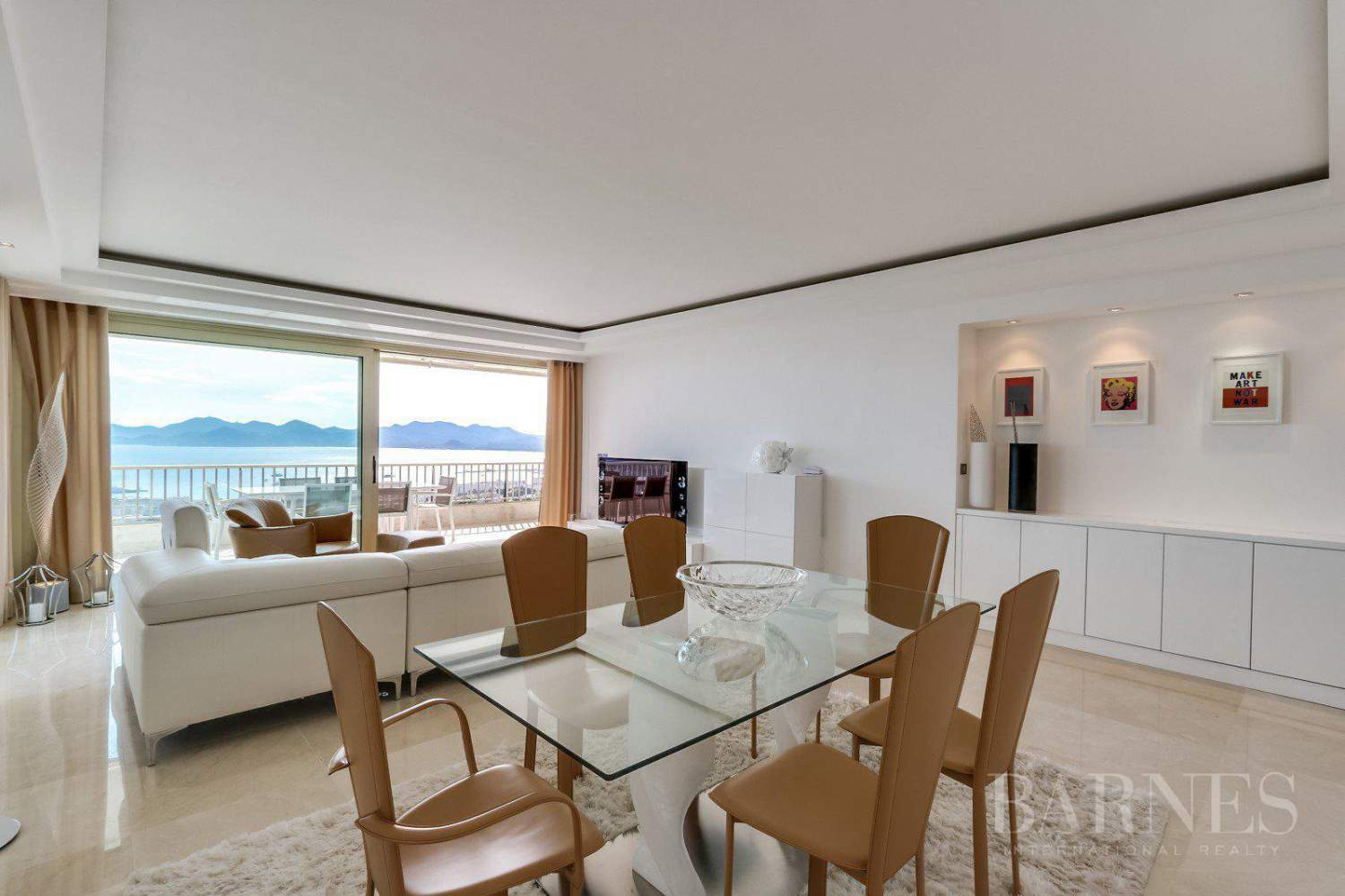 CANNES - BASSE CALIFORNIE - APPARTEMENT DE PRESTIGE - VUE MER PANORAMIQUE - 3 CHAMBRES picture 12