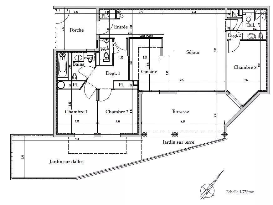 Mandelieu-la-Napoule  - Appartement 4 Pièces 3 Chambres - picture 13