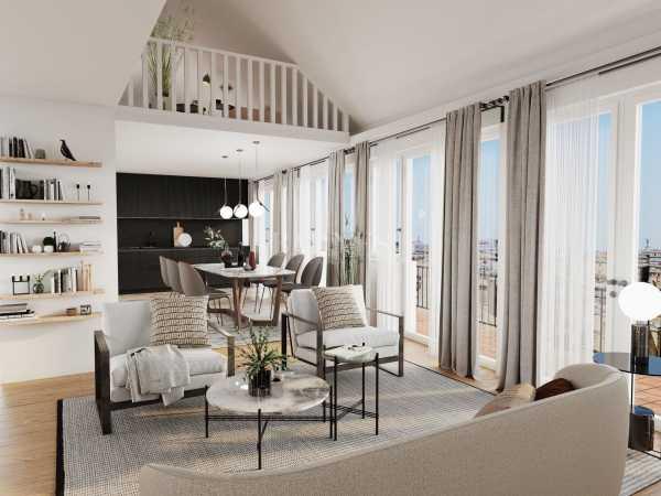 Duplex Bordeaux  -  ref 4141557 (picture 2)