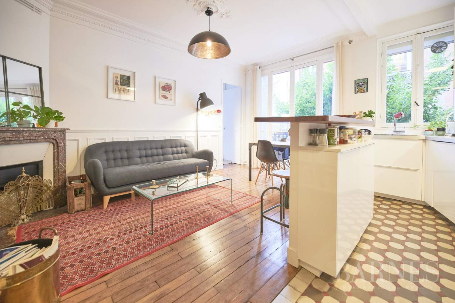 Barnes Boulogne Exclusive - Old apartment with charm - 2 bedrooms picture 6