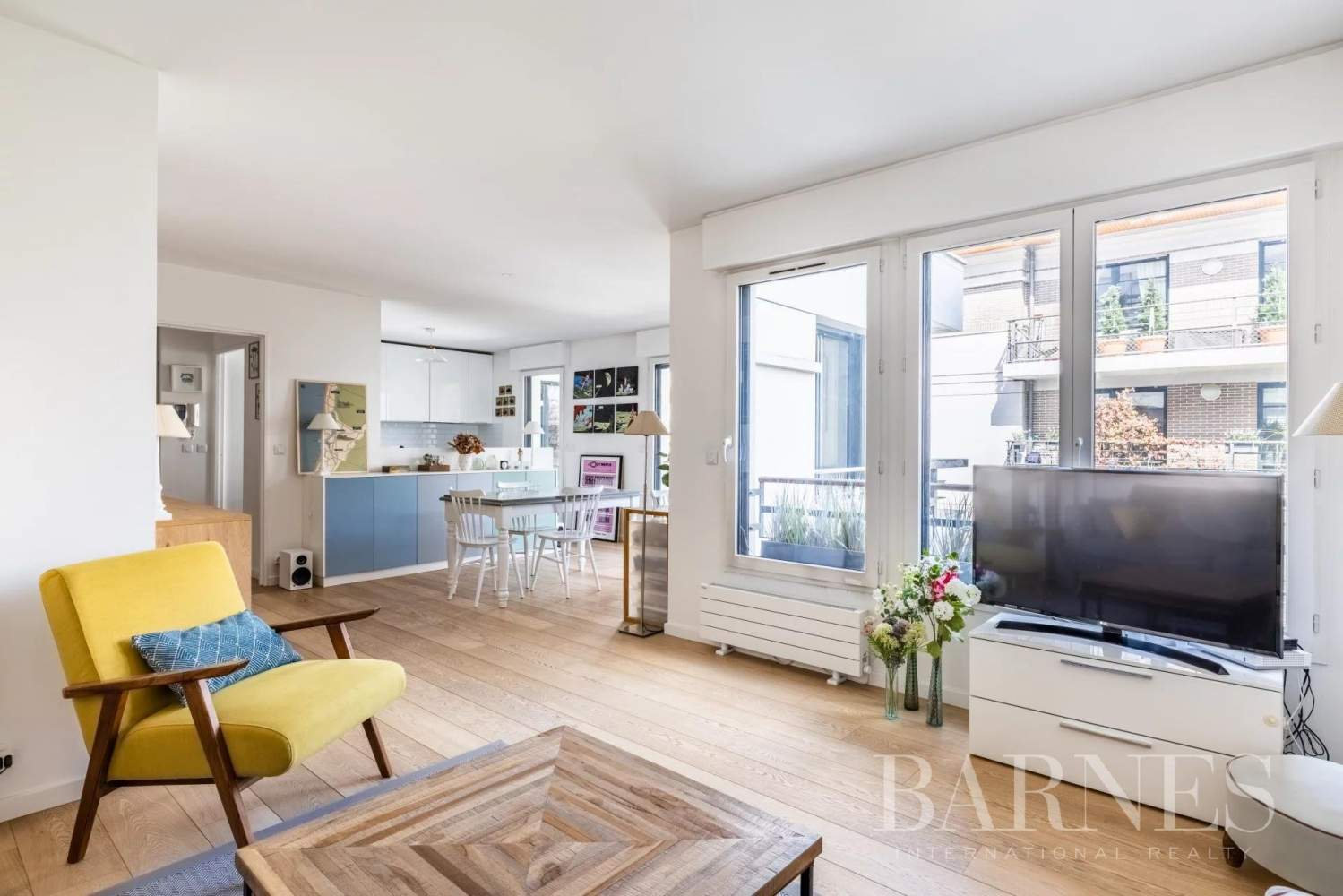 Boulogne-Billancourt  - Appartement 5 Pièces 3 Chambres - picture 2