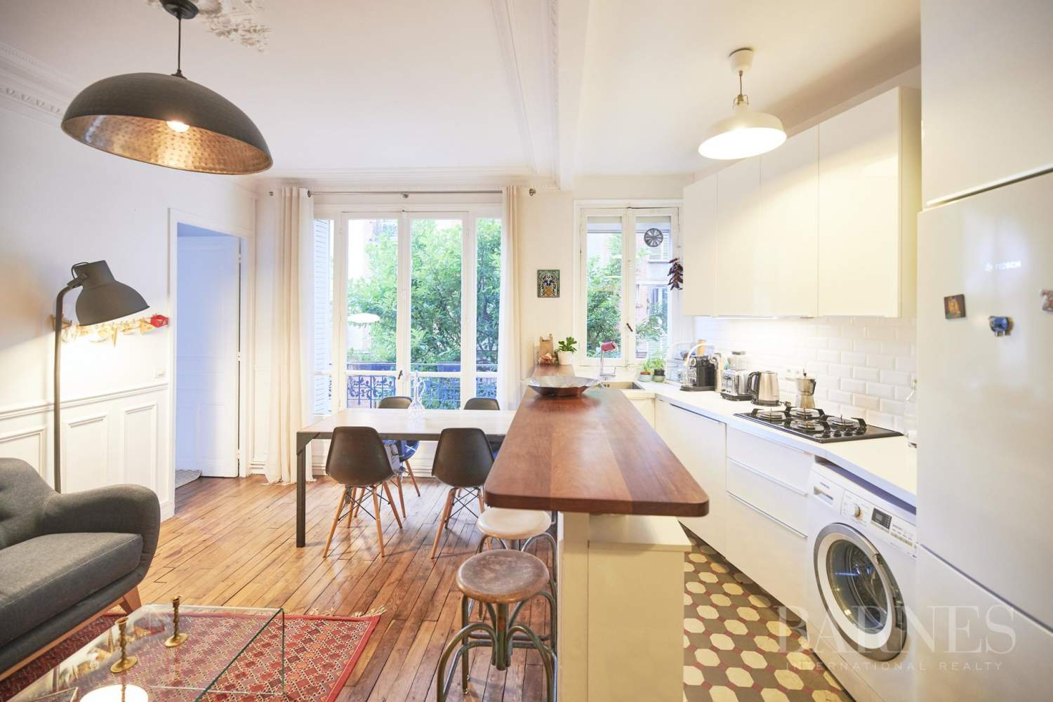 Barnes Boulogne Exclusive - Old apartment with charm - 2 bedrooms picture 4