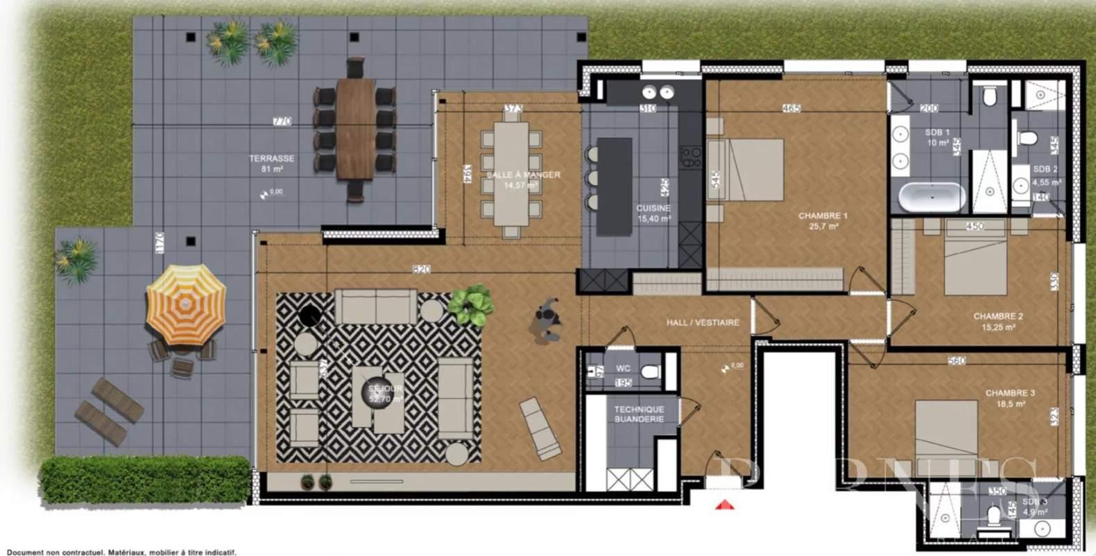 Uccle  - Appartement 6 Pièces 3 Chambres - picture 4