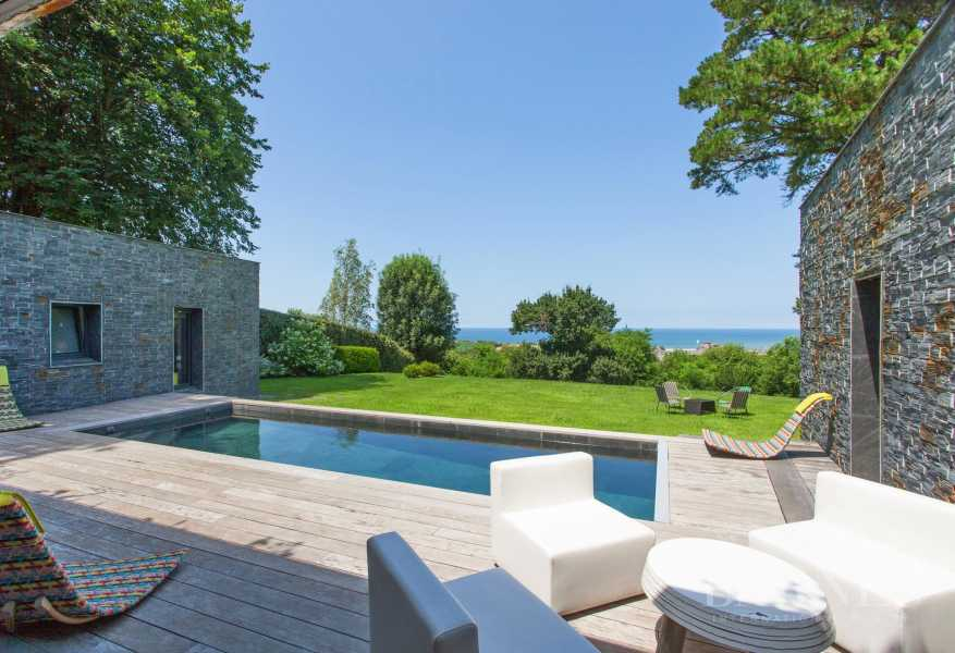CIBOURE, BORDAGAIN, BEAUTIFUL CONTEMPORARY HOUSE WITH SEA VIEW, 4 BEDROOMS, QUIET picture 17