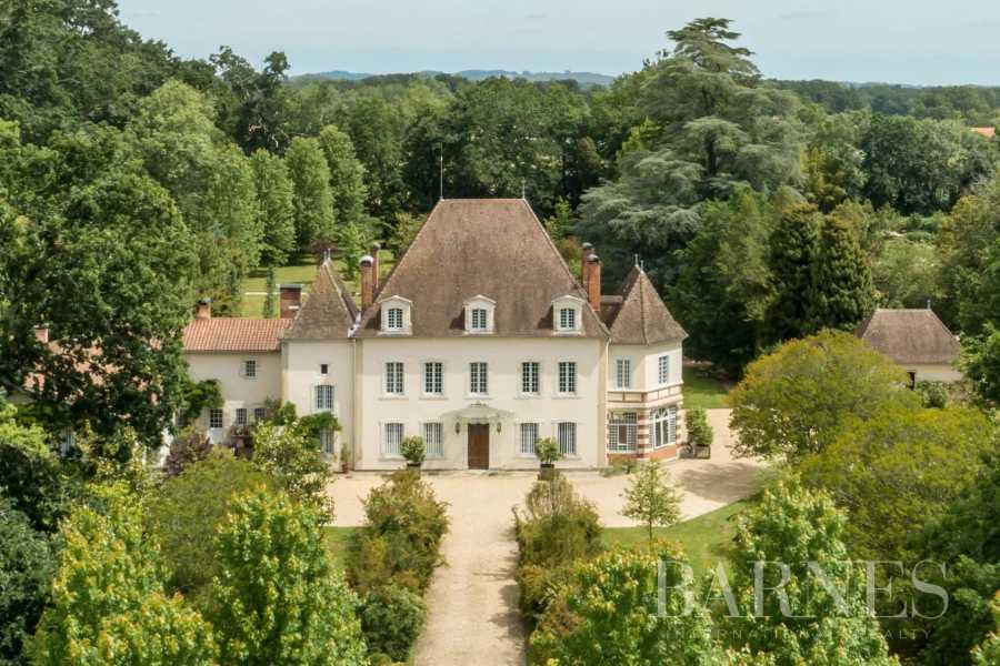 Saint-Laurent-de-Gosse  - Château 12 Pièces 10 Chambres