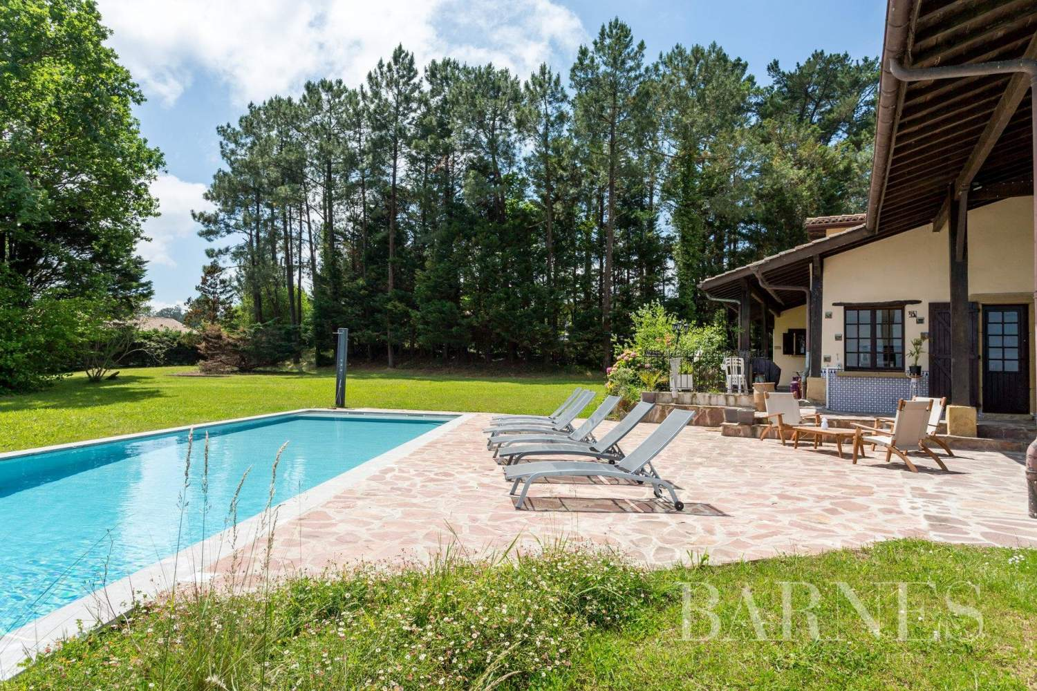 URRUGNE, LARGE HOUSE WITH A POOL AND MOUNTAINS VIEW, UP TO 17 PEOPLE picture 1