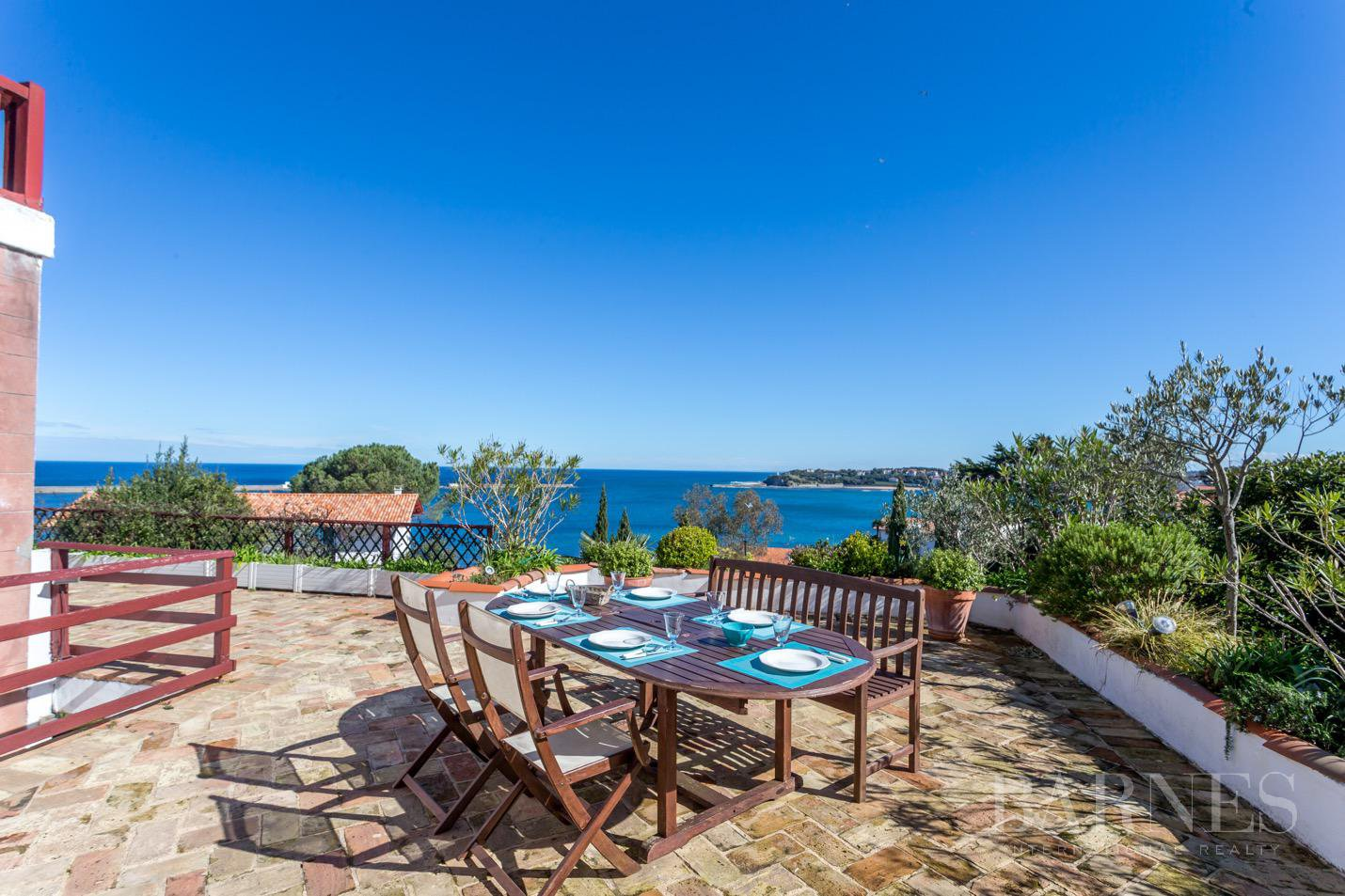 CIBOURE BORDAGAIN, HOUSE WITH SEA VIEW, POOL picture 2