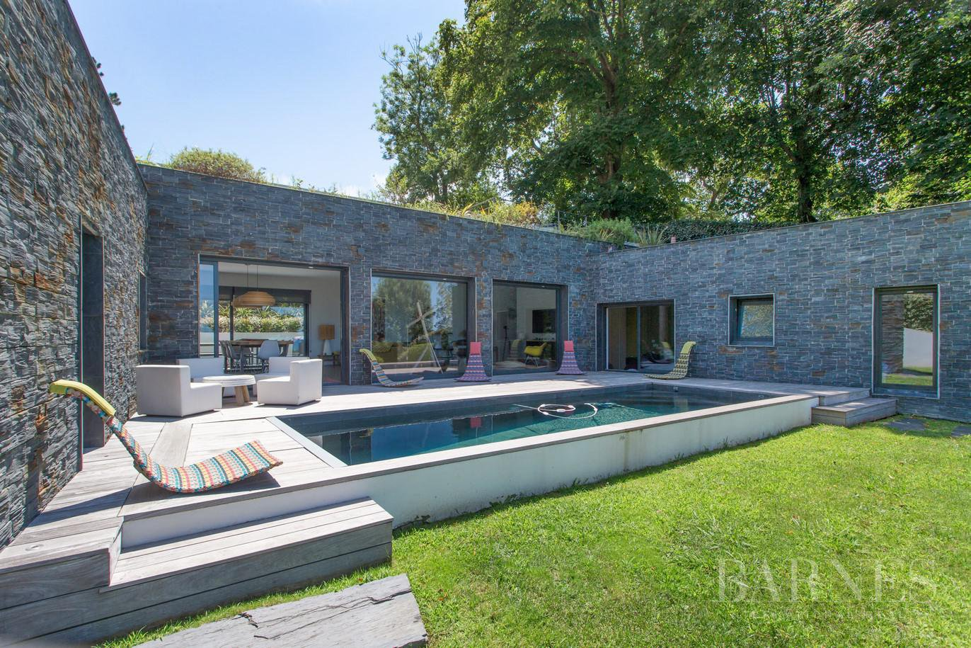 CIBOURE, BORDAGAIN, BEAUTIFUL CONTEMPORARY HOUSE WITH SEA VIEW, 4 BEDROOMS, QUIET picture 2