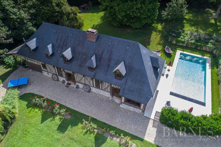 Near Deauville Property with character - 5 bedrooms - heated pool, tennis court, 2.47-acre landscaped park picture 16