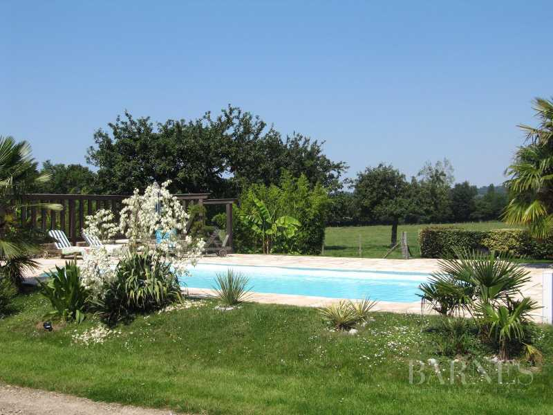 Lovely 18th century thatched cottage with pool and landscaped park picture 19