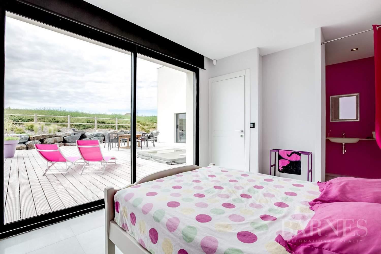 Proche Arromanches - Splendide maison d'architecte vue mer - 4 chambres - piscine - jacuzzi picture 18