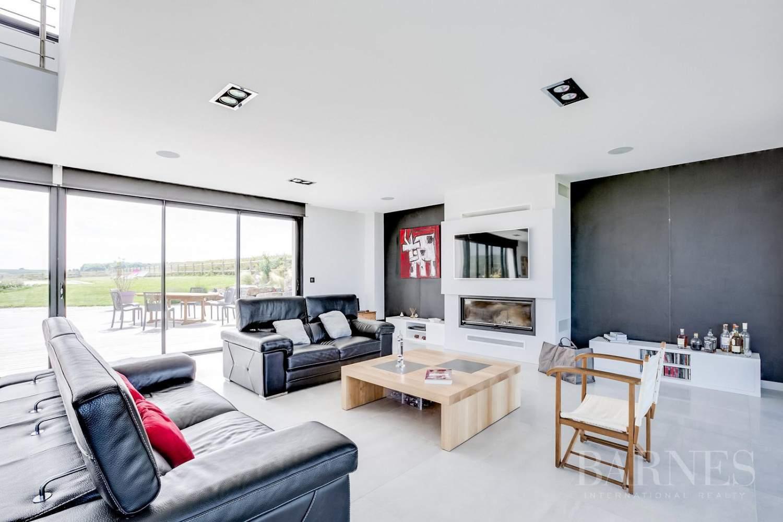 Proche Arromanches - Splendide maison d'architecte vue mer - 4 chambres - piscine - jacuzzi picture 6