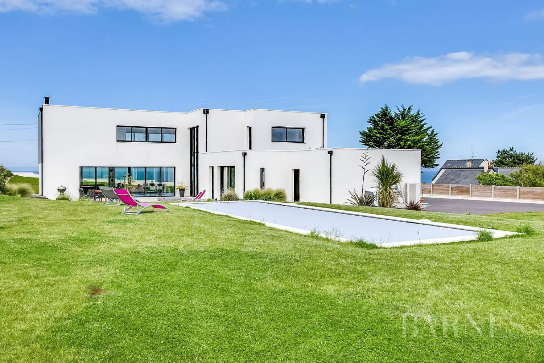 Proche Arromanches - Splendide maison d'architecte vue mer - 4 chambres - piscine - jacuzzi picture 10