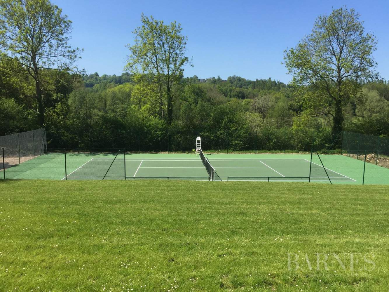 Near Deauville Property with character - 5 bedrooms - heated pool, tennis court, 2.47-acre landscaped park picture 2