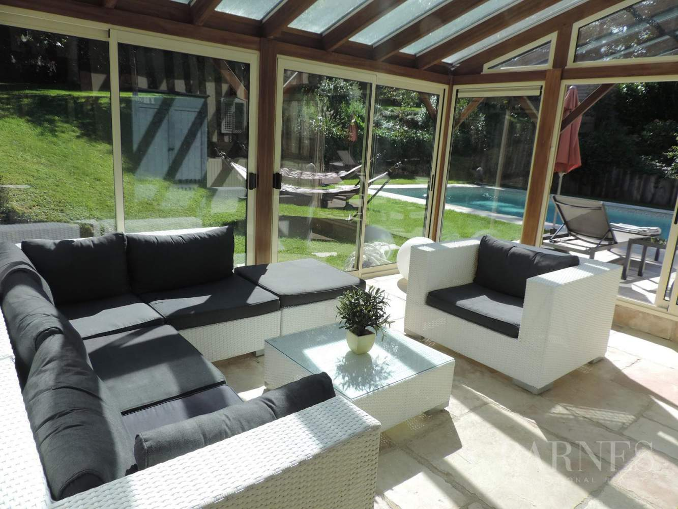 Near Deauville Property with character - 5 bedrooms - heated pool, tennis court, 2.47-acre landscaped park picture 5