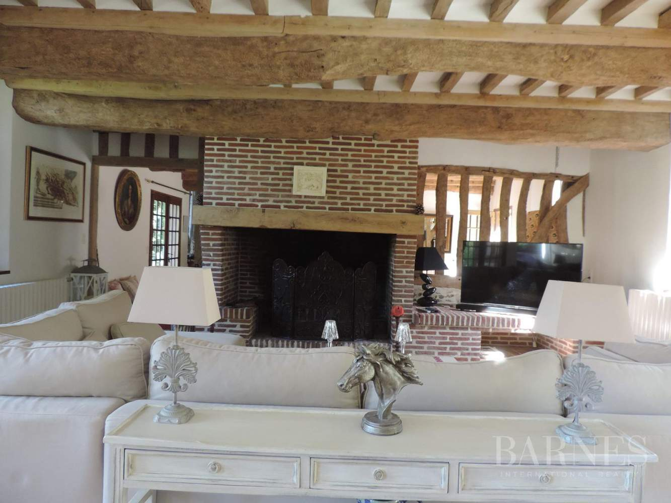 Near Deauville Property with character - 5 bedrooms - heated pool, tennis court, 2.47-acre landscaped park picture 7