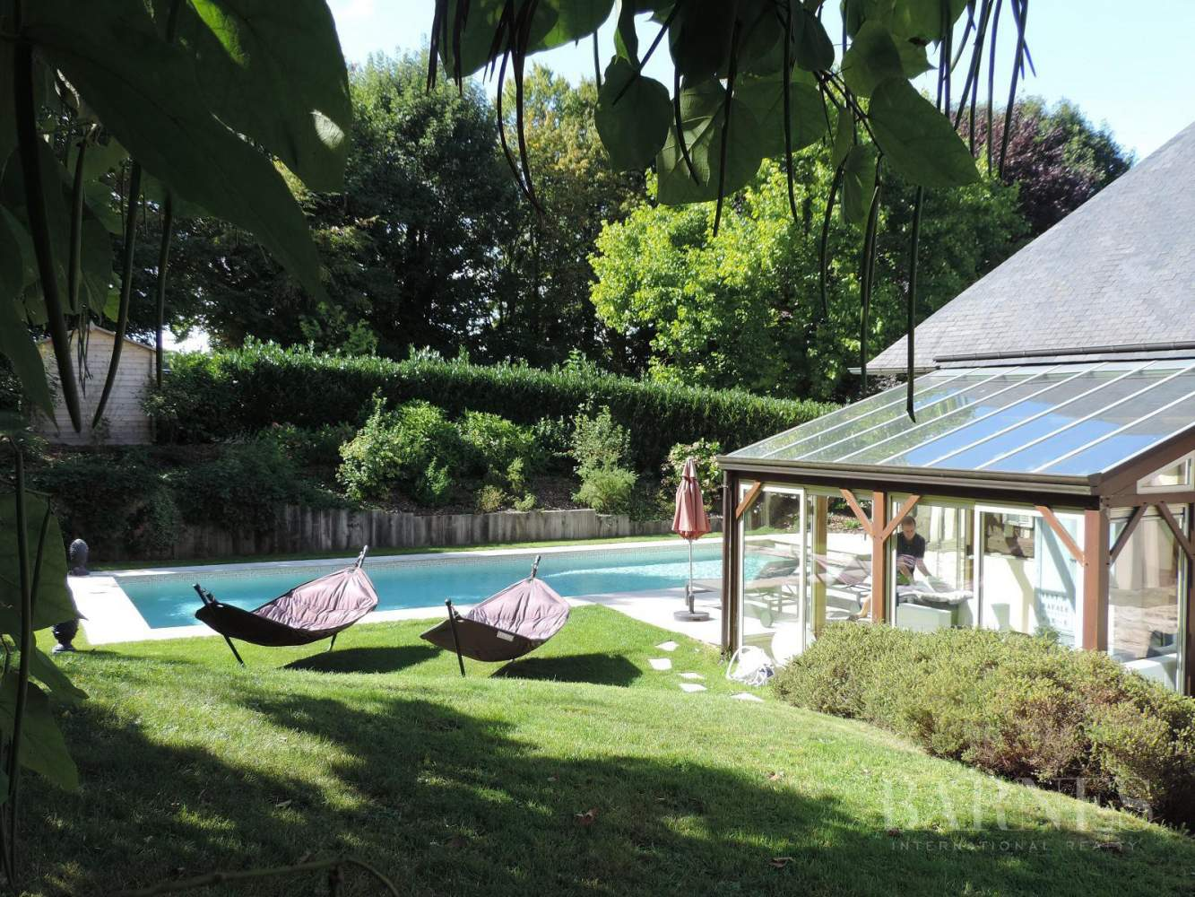 Near Deauville Property with character - 5 bedrooms - heated pool, tennis court, 2.47-acre landscaped park picture 12