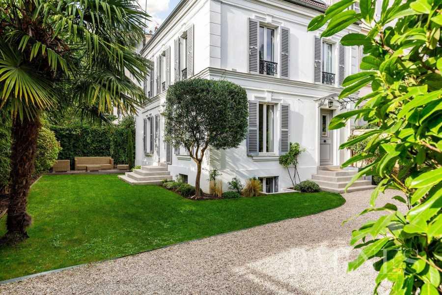 Asnières-sur-Seine  - Hôtel particulier 8 Pièces 5 Chambres