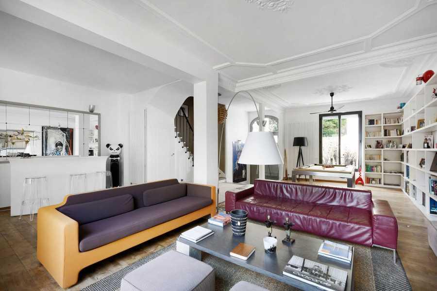Courbevoie  - Maison 7 Pièces 5 Chambres