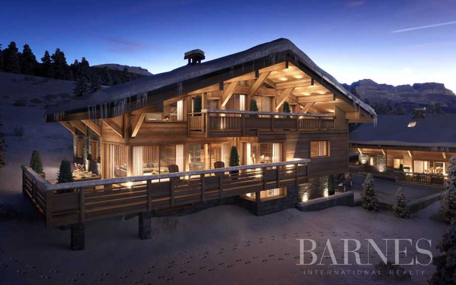 Off plan sale of new build chalets in Combloux picture 8