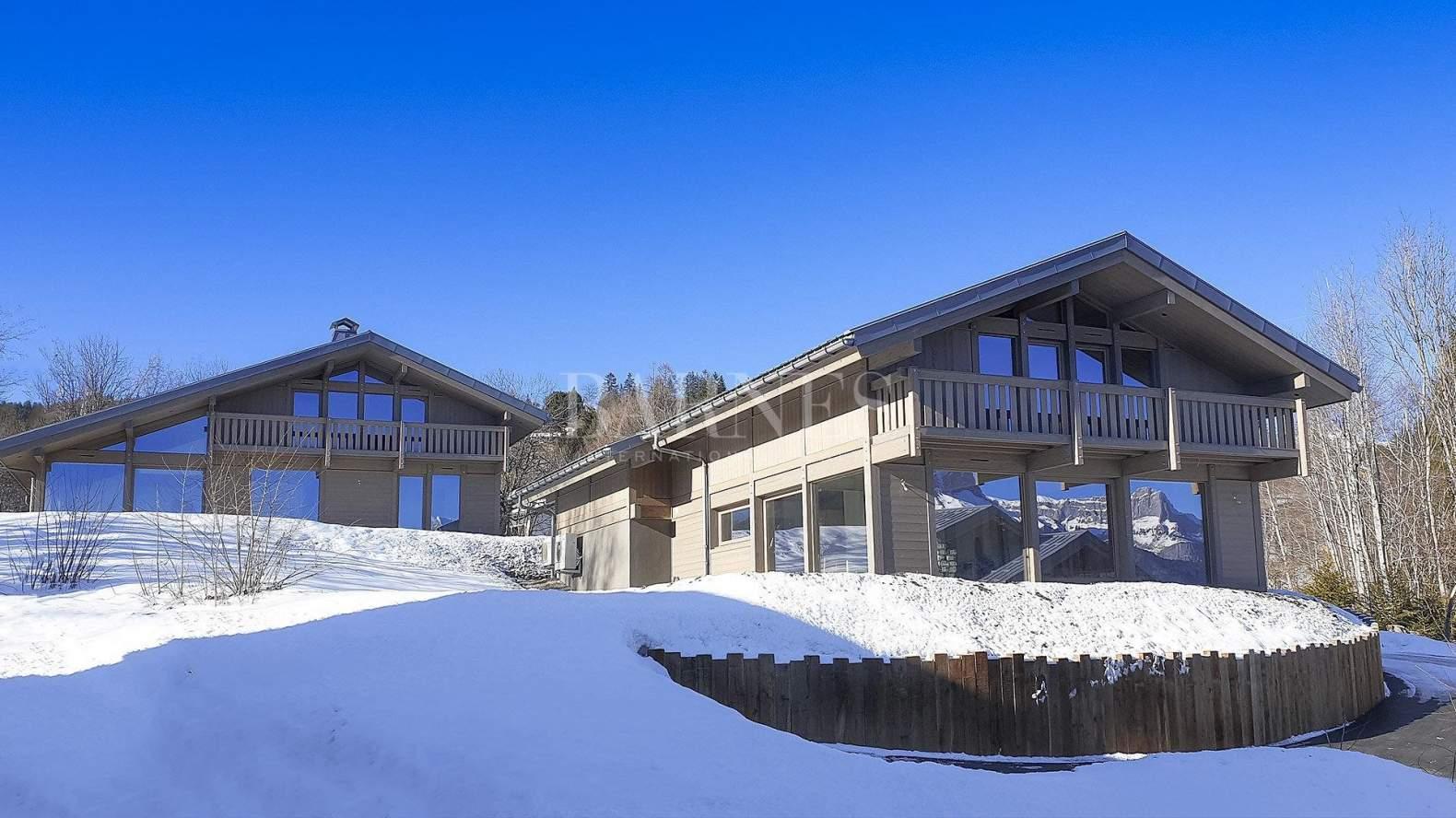 Combloux : Magnifique chalet à proximité des pistes de ski picture 1