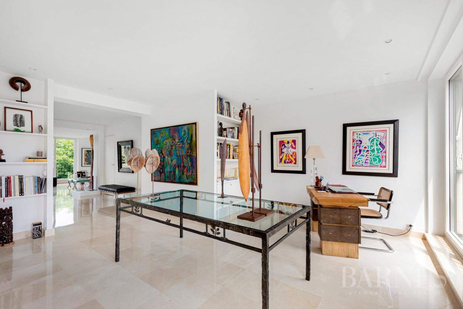 EXCLUSIVE - NEUILLY SAINT-JAMES - APARTMENT WITH RECEPTION ROOMS - UPPER FLOOR - PANORAMIC VIEWS picture 9