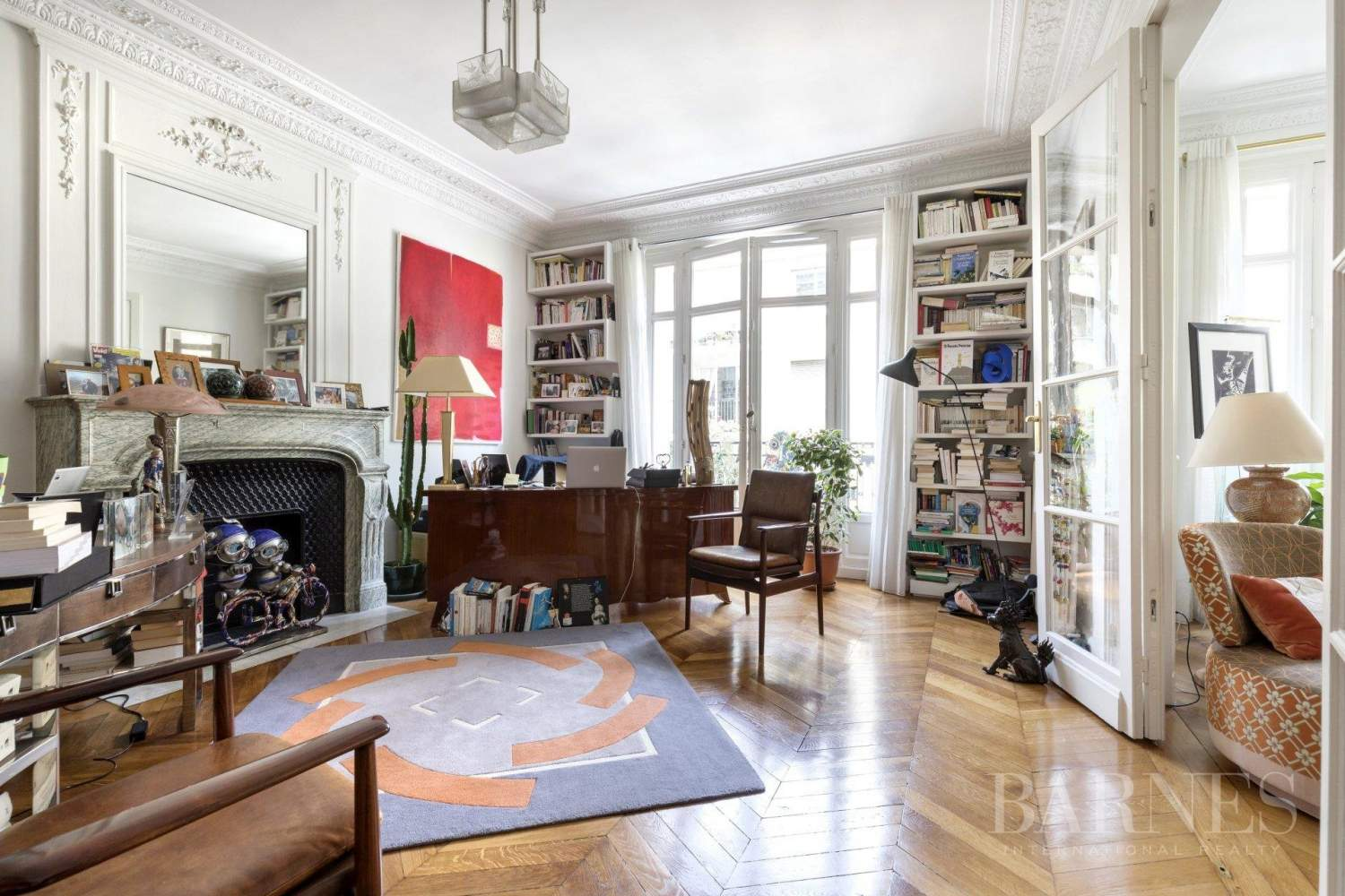 Neuilly - Achille Peretti-Mairie -  4-bedroom apartment - Unobstructed views picture 6