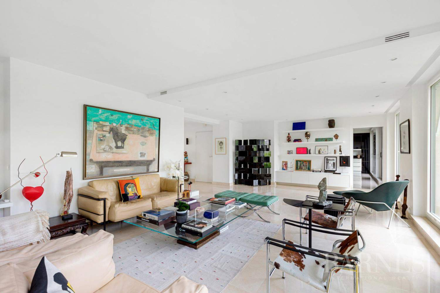 EXCLUSIVE - NEUILLY SAINT-JAMES - APARTMENT WITH RECEPTION ROOMS - UPPER FLOOR - PANORAMIC VIEWS picture 7