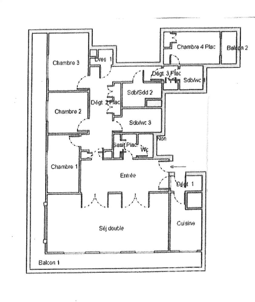 Neuilly-sur-Seine  - Appartement 6 Pièces 4 Chambres - picture 4