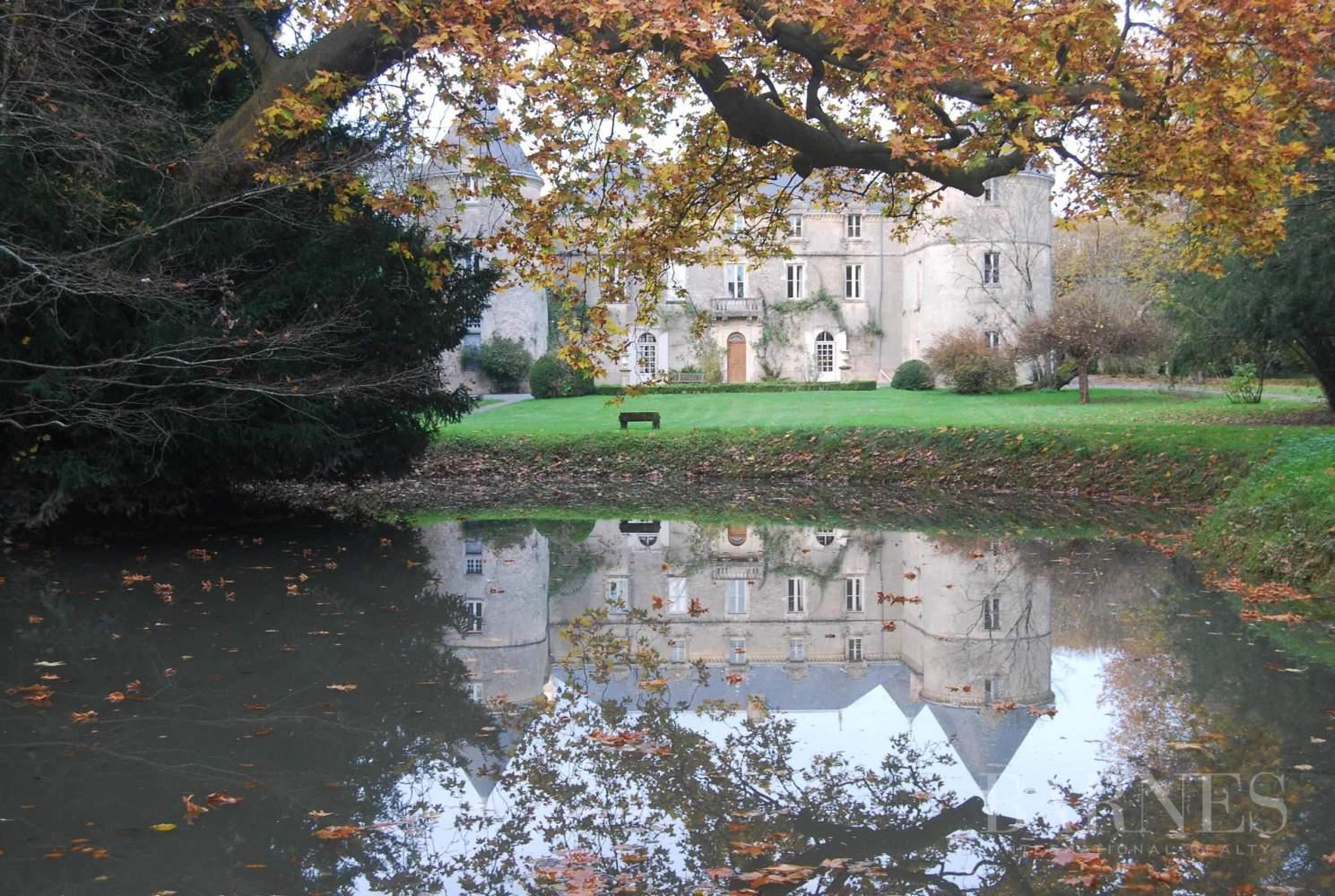La Châtaigneraie  - Château 15 Pièces 9 Chambres - picture 18