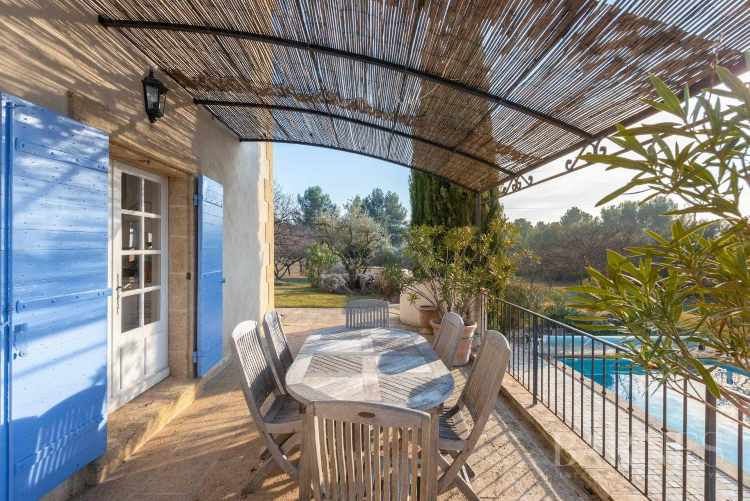 FOR SALE - AIX EN PROVENCE - ROGNES - PROVENCAL FARMHOUSE IN THE HEART OF A WOODED PARK picture 8