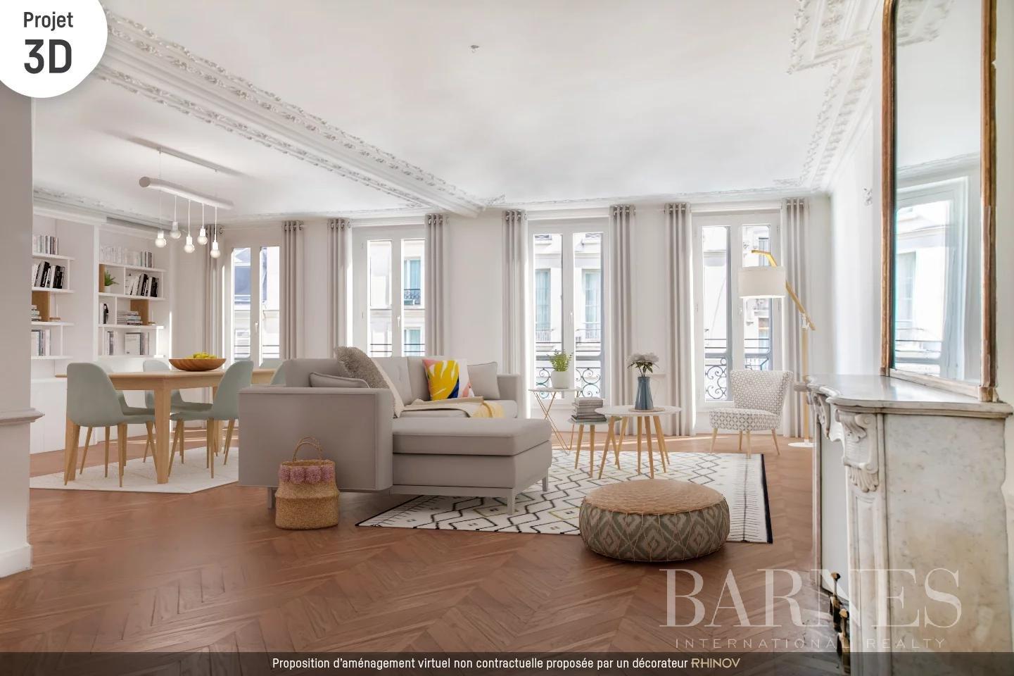 Paris  - Appartement 9 Pièces 4 Chambres - picture 2