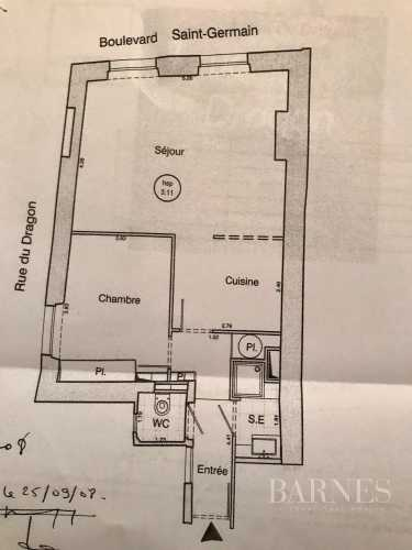 Appartement Paris 75006  -  ref 3708773 (picture 2)