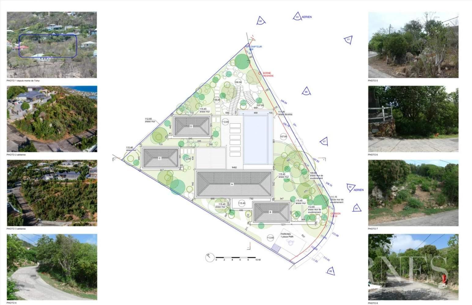 Saint-Barthélemy  - Terrain constructible  - picture 2