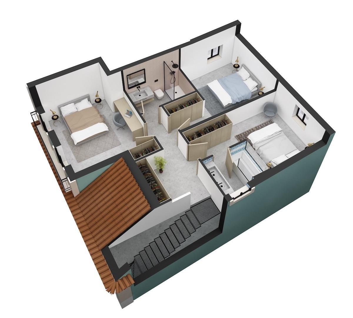 Lisboa  - Duplex 3 Pièces 2 Chambres - picture 11