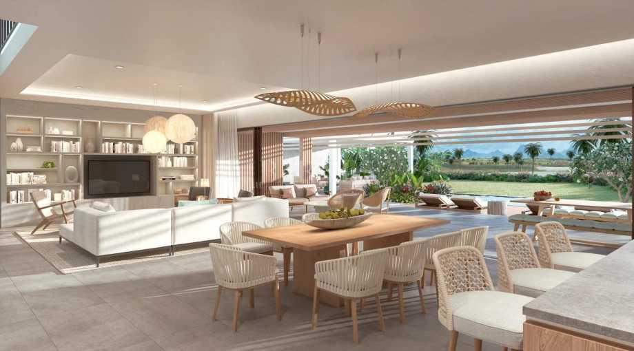 Grand Baie  - Villa 5 Pièces 4 Chambres