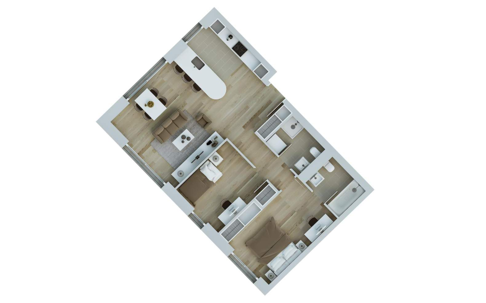 Chêne-Bourg  - Appartement 4 Pièces 2 Chambres - picture 5