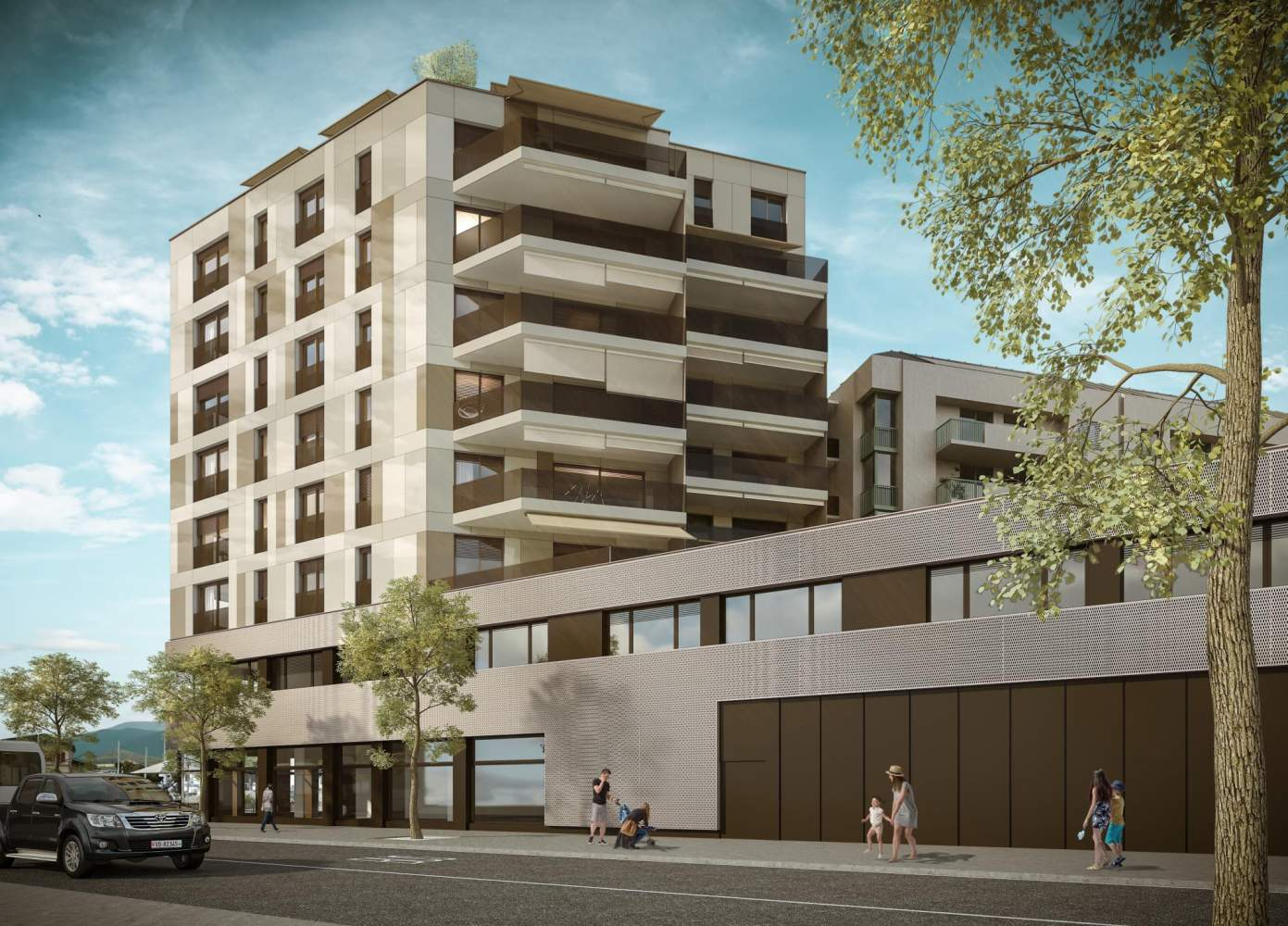 Chêne-Bourg  - Appartement 4 Pièces 2 Chambres - picture 1