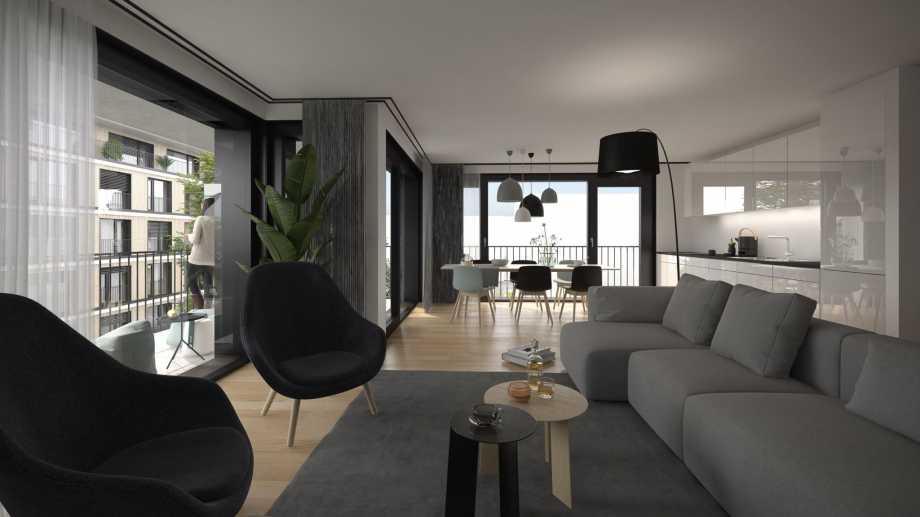 Aigle  - Appartement 2.5 Pièces, 1 Chambre