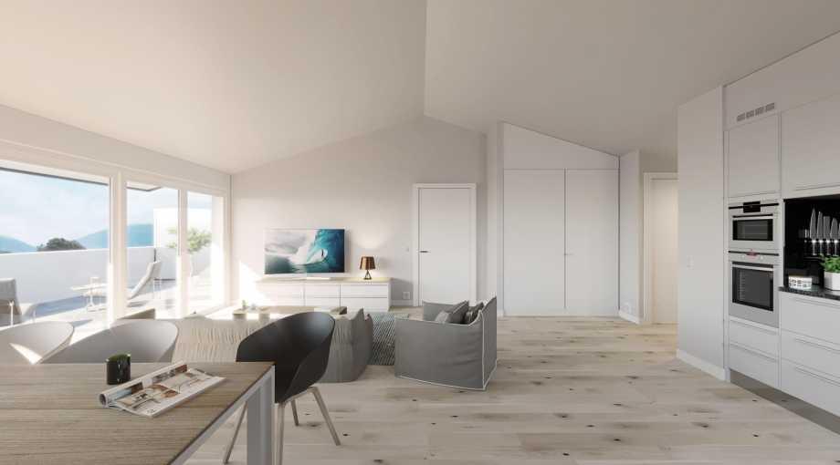 Ollon  - Appartement 3.5 Pièces 2 Chambres