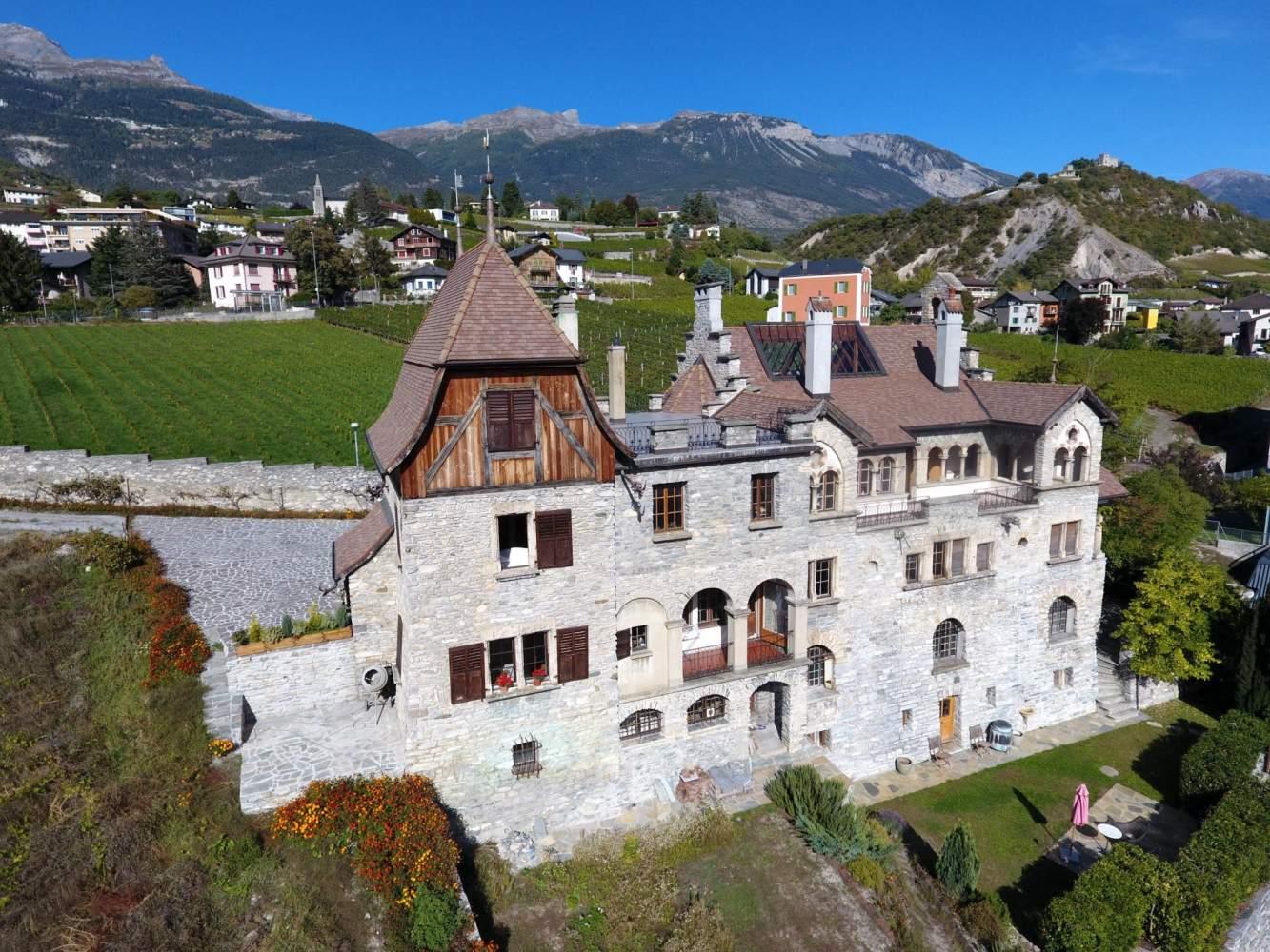 Sierre  - Château 16 Pièces 6 Chambres - picture 2
