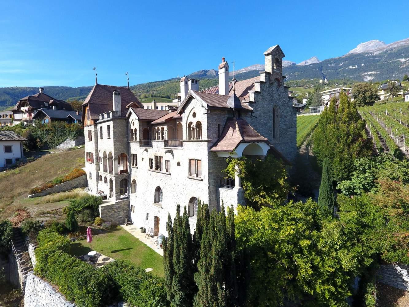 Sierre  - Château 16 Pièces 6 Chambres - picture 3