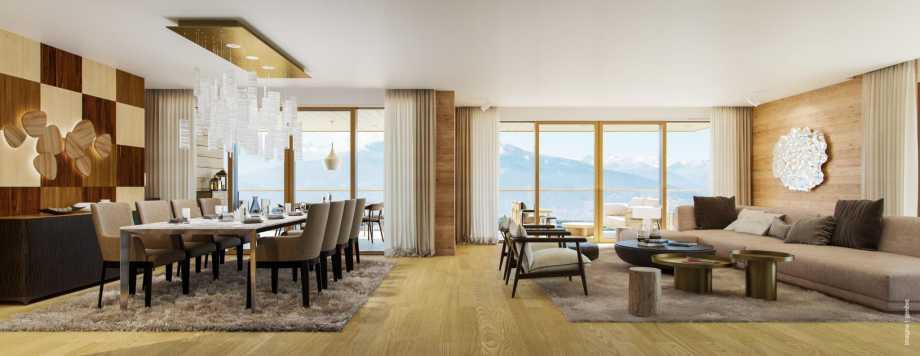 Crans-Montana  - Appartement 4 Pièces 3 Chambres